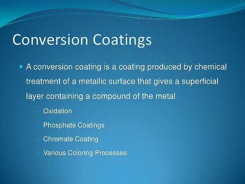 Chemical Film Coating from Advanced Metal Coatings