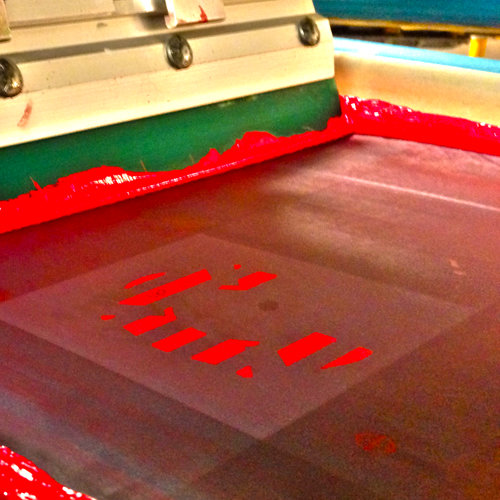 Screen Printing Backing from Advanced Metal Coatings