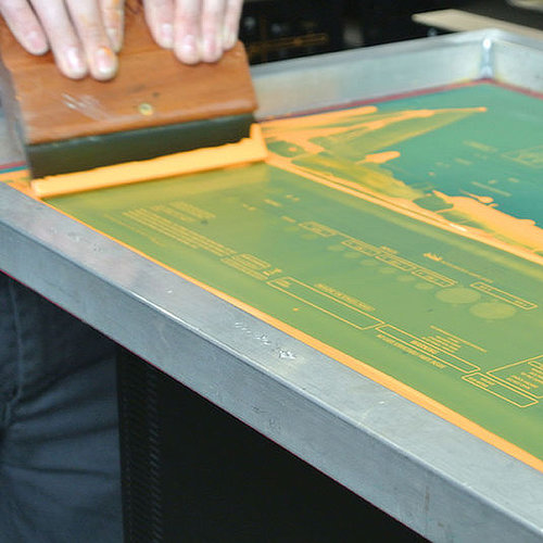 Screen Printing Process from Advanced Metal Coatings